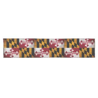 Bandera resistida del estado de Maryland del Camino De Mesa Corto
