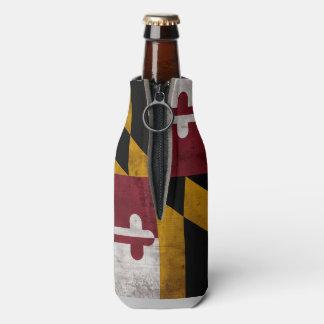 Bandera resistida del estado de Maryland del Enfriador De Botellas