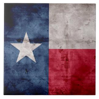 Bandera resistida del estado de Tejas del vintage