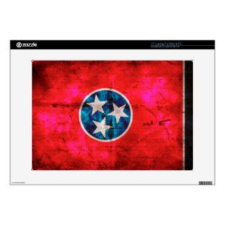 Bandera resistida del estado de Tennessee del Calcomanías Para 38,1cm Portátiles