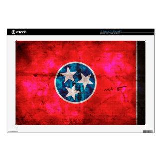 Bandera resistida del estado de Tennessee del Portátil 43,2cm Skins