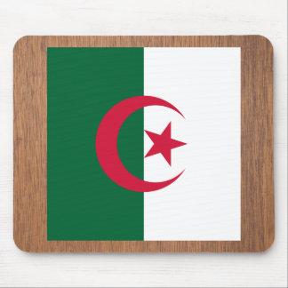 Bandera retra de Argelia Tapete De Ratón