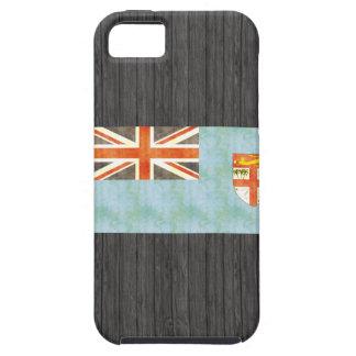 Bandera retra de Fiji del vintage iPhone 5 Carcasas