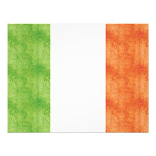 Bandera retra de Italia del vintage Flyer Personalizado