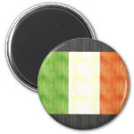 Bandera retra de Italia del vintage Imanes