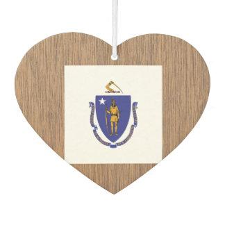 Bandera retra de Massachusetts