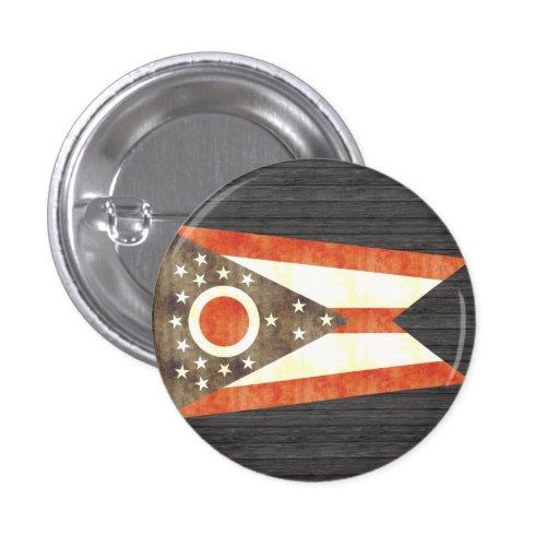 Bandera retra de Ohio del vintage Pin