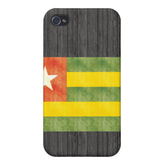 Bandera retra de Togo del vintage iPhone 4 Coberturas