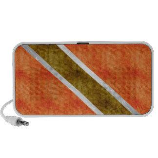 Bandera retra de Trinidad and Tobago del vintage iPod Altavoz