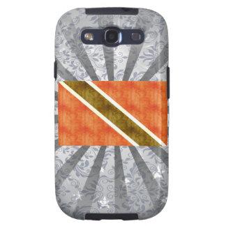 Bandera retra de Trinidad and Tobago del vintage Galaxy S3 Protectores