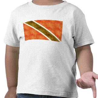 Bandera retra de Trinidad and Tobago del vintage Camisetas