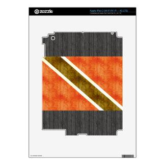 Bandera retra de Trinidad and Tobago del vintage iPad 3 Skin