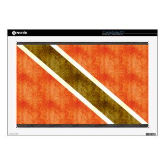 Bandera retra de Trinidad and Tobago del vintage Calcomanía Para 43,2cm Portátil