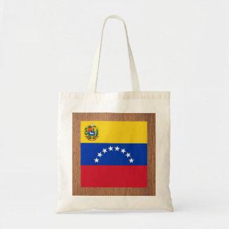 Bandera retra de Venezuela Bolsa Tela Barata