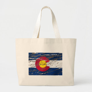 Bandera retra del estado de Colorado del vintage Bolsas