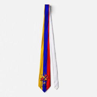 Bandera revolucionaria armenia de la federación corbatas