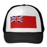 Bandera roja del plumero de la bandera civil de Re Gorra