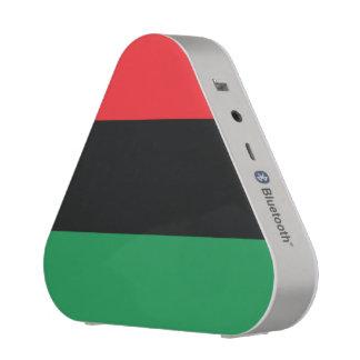 Bandera roja, negra y verde altavoz bluetooth