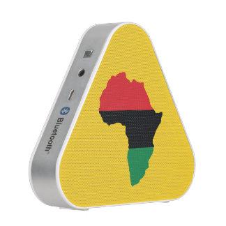 Bandera roja, negra y verde de África Altavoz Bluetooth
