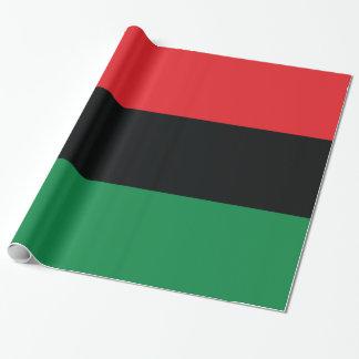 Bandera roja, negra y verde