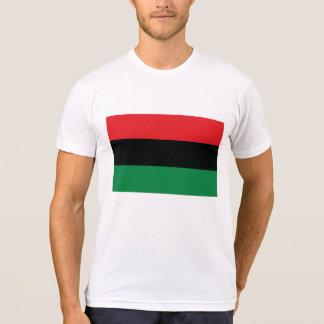 Bandera roja, negra y verde camisetas