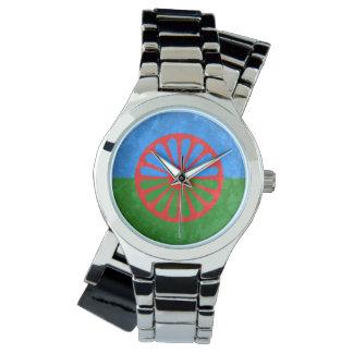 Bandera Romani Relojes De Mano