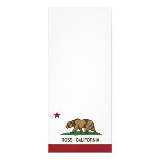 Bandera Ross de la república de California Invitación