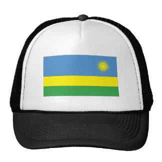 Bandera ruandesa gorra