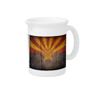 Bandera rugosa de Arizona Jarras