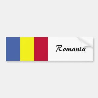 Bandera rumana pegatina para auto