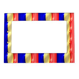 Bandera rumana marcos magneticos para fotos