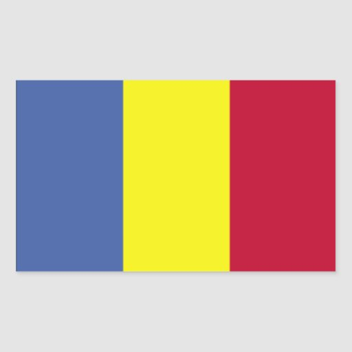Bandera rumana rectangular altavoz
