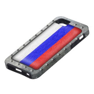Bandera rusa industrial funda para iPhone SE/5/5s