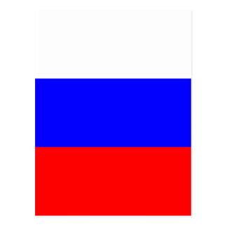 Bandera rusa postal
