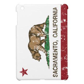 bandera Sacramento de California apenada