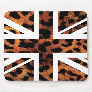 Bandera salvaje de Jack Británicos (Reino Unido) d Tapete De Raton