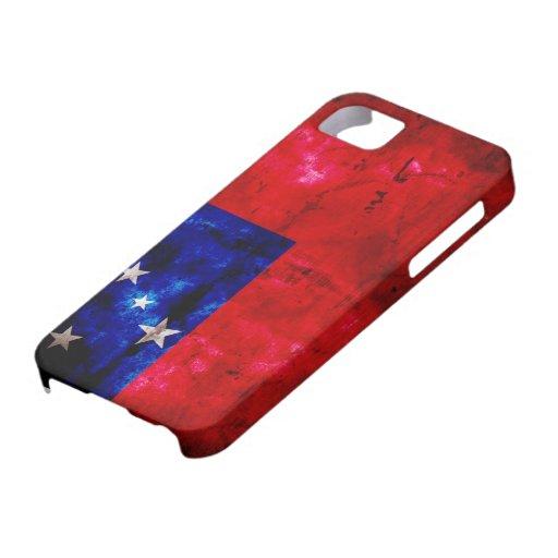 Bandera samoana iPhone 5 carcasa