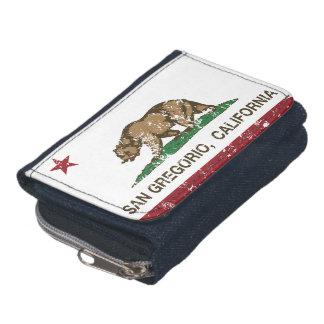 Bandera San Gregorio de la república de California