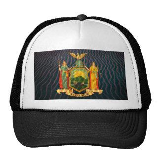 Bandera Sandy de Nueva York Gorro De Camionero