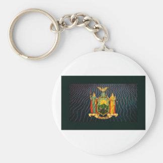 Bandera Sandy de Nueva York Llavero Personalizado