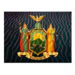 Bandera Sandy de Nueva York Postal