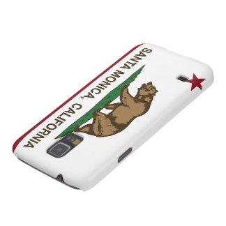 Bandera Santa Mónica del estado de California Carcasas Para Galaxy S5