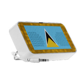 Bandera santalucense oficial portátil altavoz