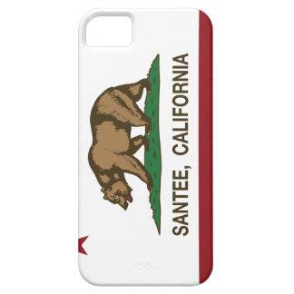 Bandera Santee del estado de California iPhone 5 Fundas