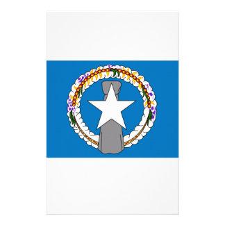 Bandera septentrional de las Mariana Papelería De Diseño