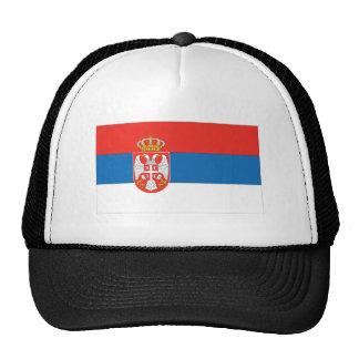 Bandera servia gorras