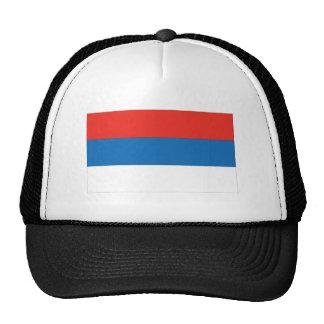 Bandera servia gorras de camionero