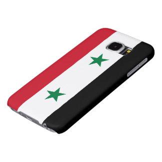 Bandera siria fundas samsung galaxy s6