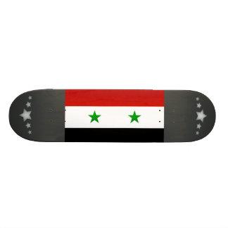 Bandera siria pelada moderna monopatin personalizado