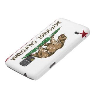 Bandera Skyforest de la república de California Carcasas De Galaxy S5